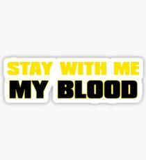 My Blood Sticker