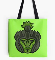 Zombie Orc Warrior Tote Bag