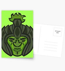 Zombie Orc Warrior Postcards