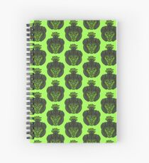 Zombie Orc Warrior Spiral Notebook