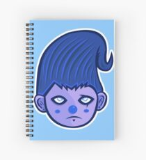 Blueshen Vector Art. Spiral Notebook