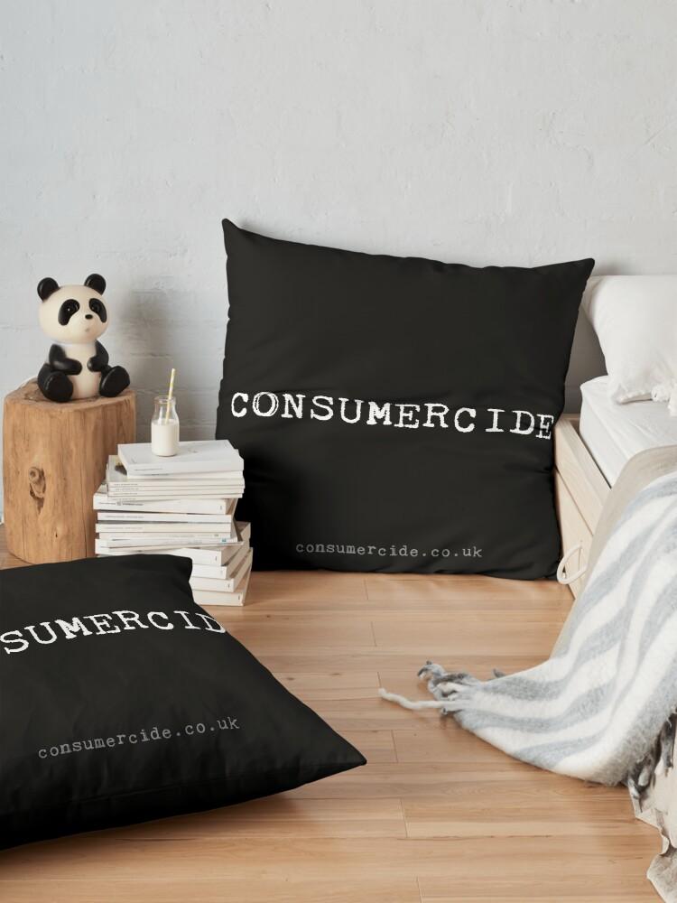 Alternate view of Consumercide Floor Pillow