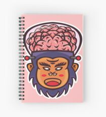 Brainiax Vector Art Spiral Notebook