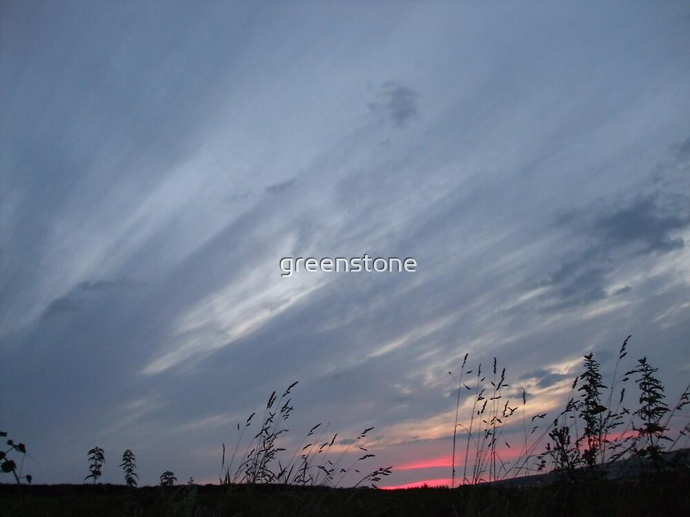 Brush Srokes in The Sky...... by greenstone