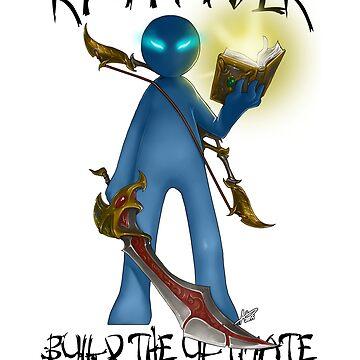 Gamer - RPG Genre by Squatterloki