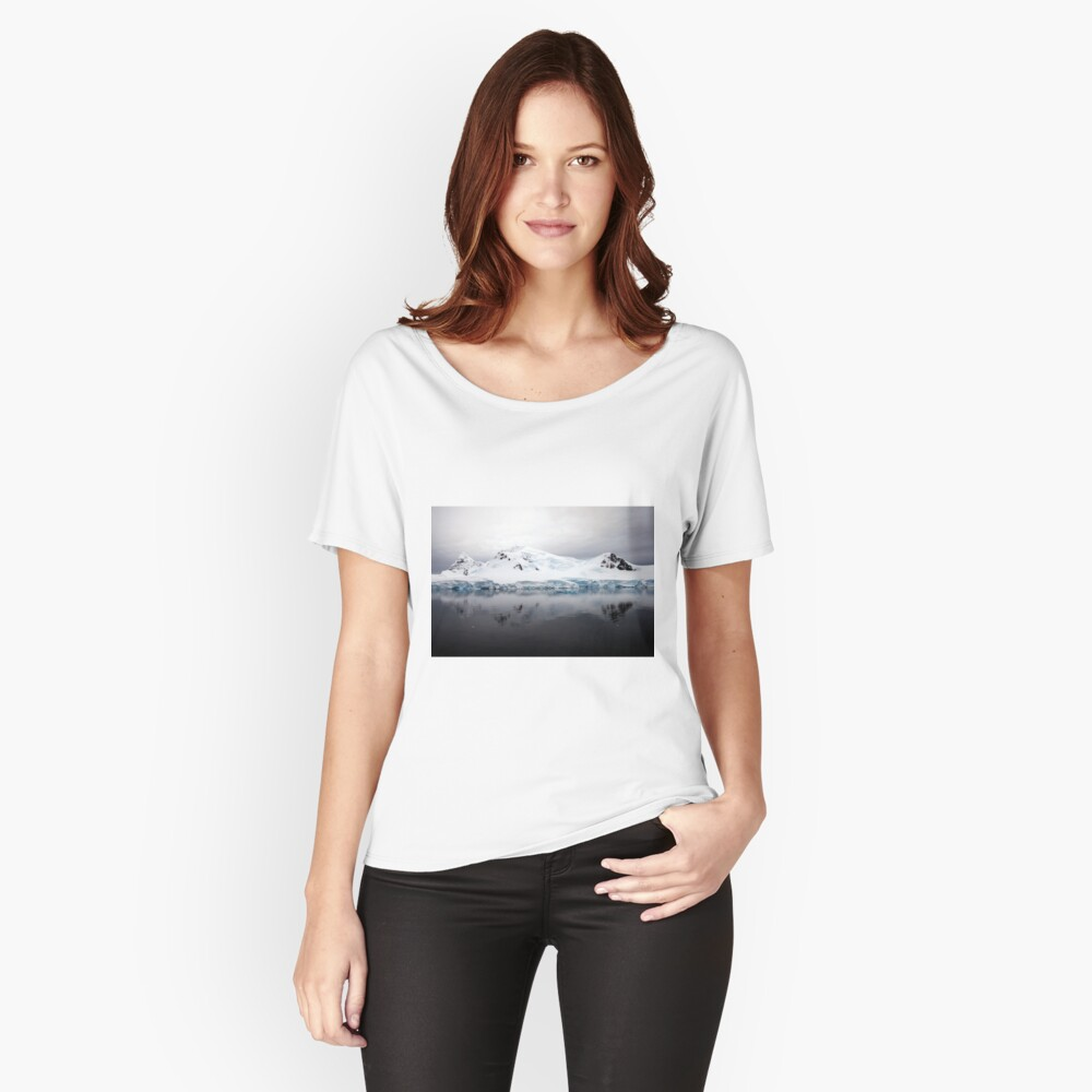 Antarctic Landscape - Paradise Bay Women's Relaxed Fit T-Shirt Front
