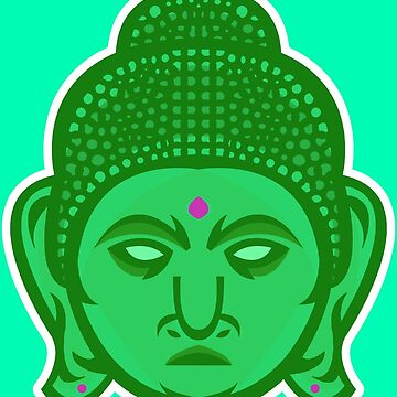 Buddha Vector Art by giftmones