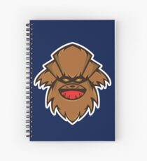 Chewbaba Vector Art Spiral Notebook