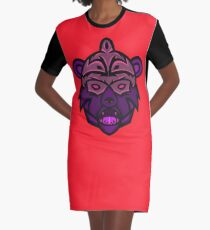 Gorgo Vector Art Graphic T-Shirt Dress