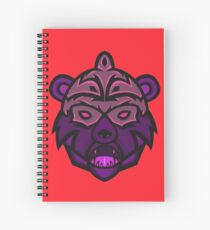 Gorgo Vector Art Spiral Notebook