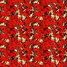 Decorative texture with spots.Colorful background. by starchim01