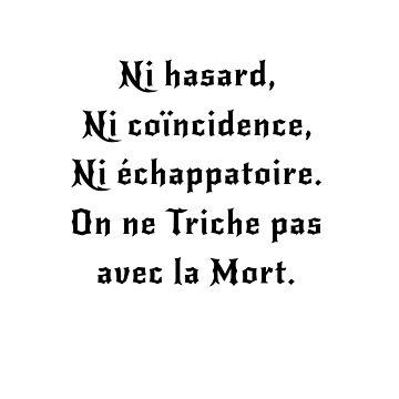 On ne Triche pas avec la Mort | Movie Quotes by CarlosV