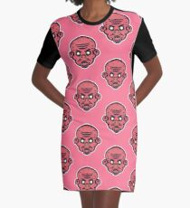 Vampire Zombie Vector Art Graphic T-Shirt Dress