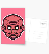 Vampire Zombie Vector Art Postcards