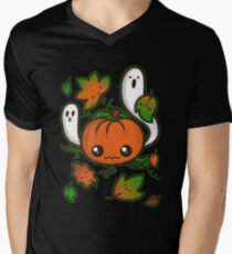Halloween Friends Men's V-Neck T-Shirt