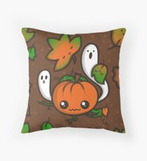 Halloween Friends Throw Pillow