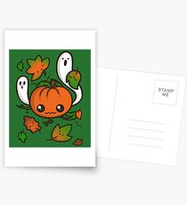 Halloween Friends Postcards