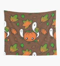 Halloween Friends Wall Tapestry