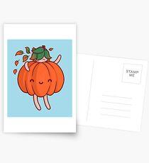 Pumpkin Sprite Postcards