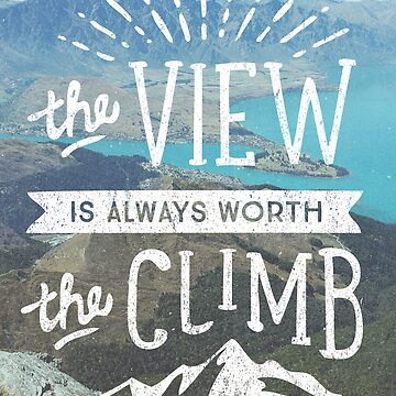 The view is worth the climb by cabinsupplyco