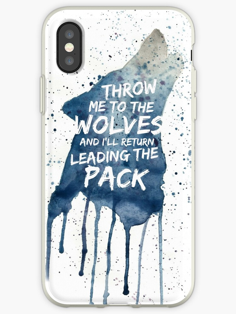 iphone xs case wolf