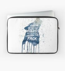 Throw Me To The wolves Laptop Sleeve