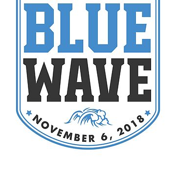 The Blue Wave by rockpapershirts