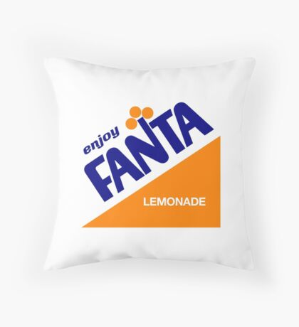 Another fizzy drink Throw Pillow