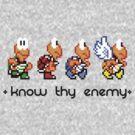 Know Thy Enemy by shikijiyu