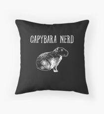 Capybara Nerd Animal Lover Gift Floor Pillow