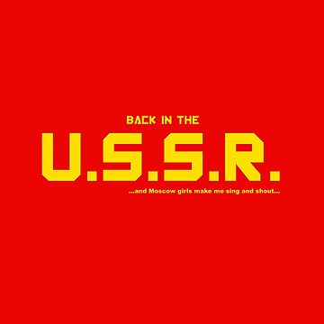 The Beatles: Back in the U.S.S.R. by Inmigrant