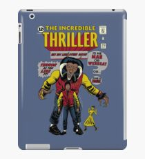 The Incredible Thriller iPad Case/Skin