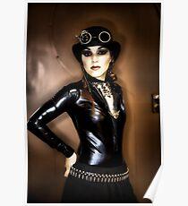 Steampunk Portrait Poster