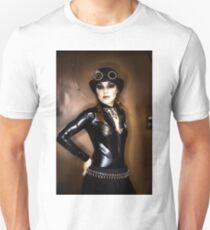 Steampunk Portrait T-Shirt