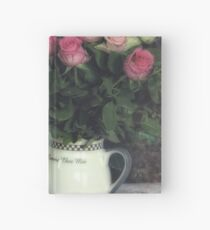 Old roses Hardcover Journal
