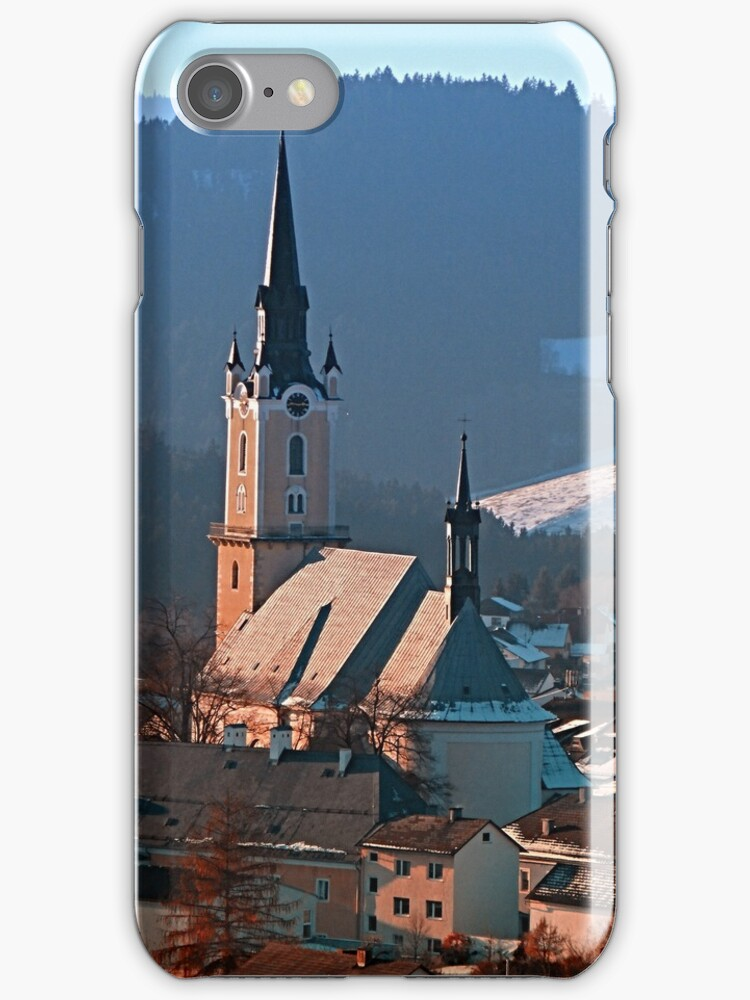City church in winter wonderland | landscape photography by Patrick Jobst
