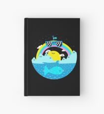 Rainbow Space World Hardcover Journal