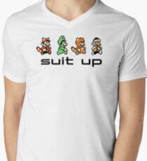 Suit Up Men's V-Neck T-Shirt