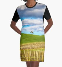 Single tree Graphic T-Shirt Dress