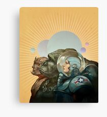Heroes of the Solar System Canvas Print