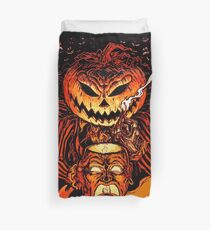 Pumpkin King Lord O Lanterns Duvet Cover