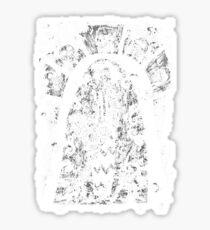 the tattooed woman Sticker
