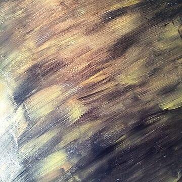 Gold skies by mira-luan-art
