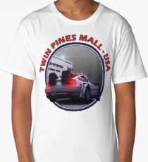 Back to the Future inspired Delorean at Twin Pines Mall, California, USA. Long T-Shirt