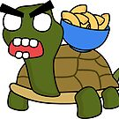 angry zombie turtle mac by shortstack