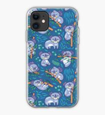 koalas in the eucalyptus forest iPhone Case