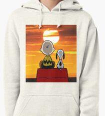 Snoopy Charlie Pullover Hoodie