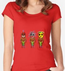 Monkey Island's Cannibals (Monkey Island) Women's Fitted Scoop T-Shirt