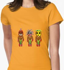 Monkey Island's Cannibals (Monkey Island) Womens Fitted T-Shirt