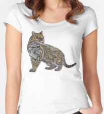 Ocelot Fitted Scoop T-Shirt